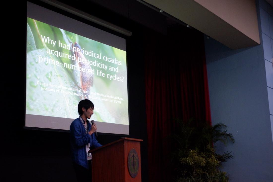 Dr. Hiromu Ito from Nagasaki University giving his plenary talk