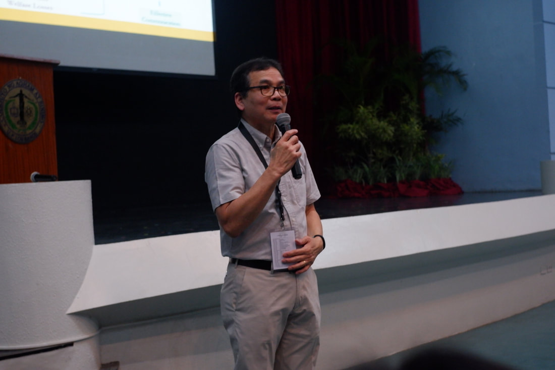 Academician Rex Victor Cruz gives his keynote speech on Day 3 of IWOMB 2020