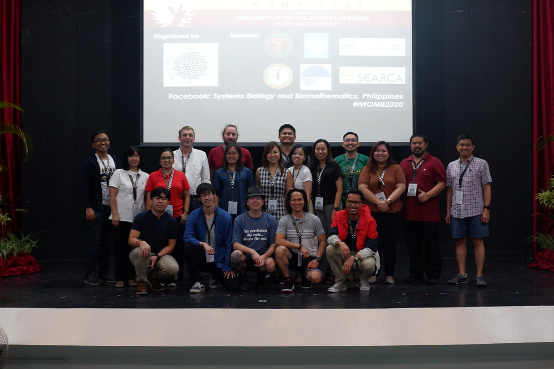 IWOMB Organizing Committee together with the plenary speakers